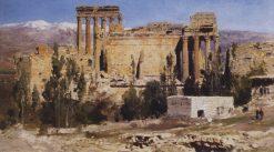 Baalbek. Temple Ruins | Vasily Polenov | Oil Painting