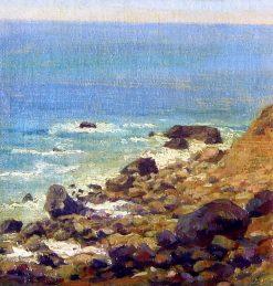 The Seashore   Vasily Polenov   Oil Painting