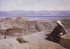 Christ in the Desert | Vasily Polenov | Oil Painting