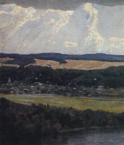 View of Tarusa | Vasily Polenov | Oil Painting