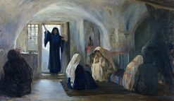 Ushered in a tearful joy | Vasily Polenov | Oil Painting