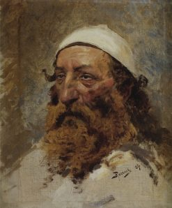 The Head of a Jew (study) | Vasily Polenov | Oil Painting