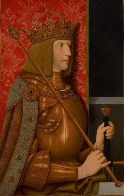 Maximilian I   Bernhard Strigel   Oil Painting