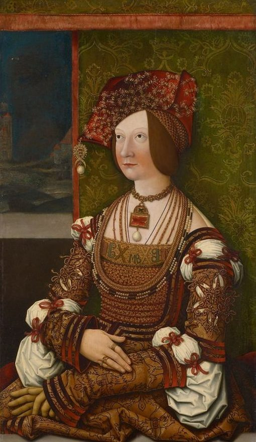 Bianca Maria Sforza | Bernhard Strigel | Oil Painting
