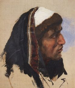 Head of a Young Man | Vasily Polenov | Oil Painting