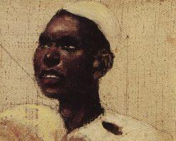 Head of a Nubian Man | Vasily Polenov | Oil Painting