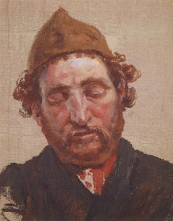 Head of a Red-Haired Man | Vasily Polenov | Oil Painting