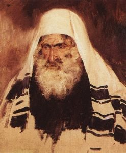 Head of an Old Jew | Vasily Polenov | Oil Painting