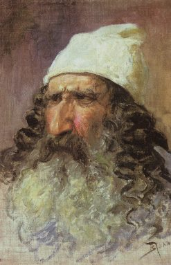 Head of a Pharisee | Vasily Polenov | Oil Painting