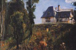 The Polenov House   Vasily Polenov   Oil Painting