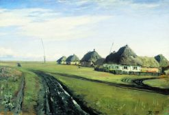 Country Road | Vasily Polenov | Oil Painting