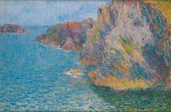 La Pointe de Morestil par mer calme | John Peter Russell | Oil Painting