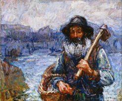 Mon ami Polite | John Peter Russell | Oil Painting