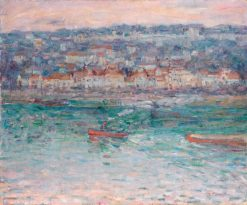 Remorqueur sur la Seine | John Peter Russell | Oil Painting