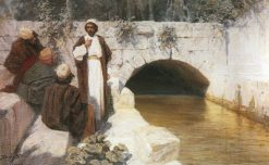 What People Think About Me? | Vasily Polenov | Oil Painting