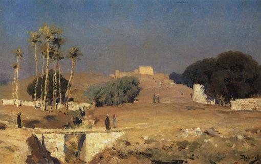 Old Cairo | Vasily Polenov | Oil Painting