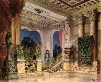 The Palace Hall   Vasily Polenov   Oil Painting