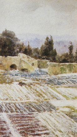 Winter in Rome | Vasily Polenov | Oil Painting