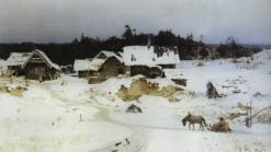 Winter | Vasily Polenov | Oil Painting