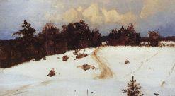 Winter Landscape | Vasily Polenov | Oil Painting