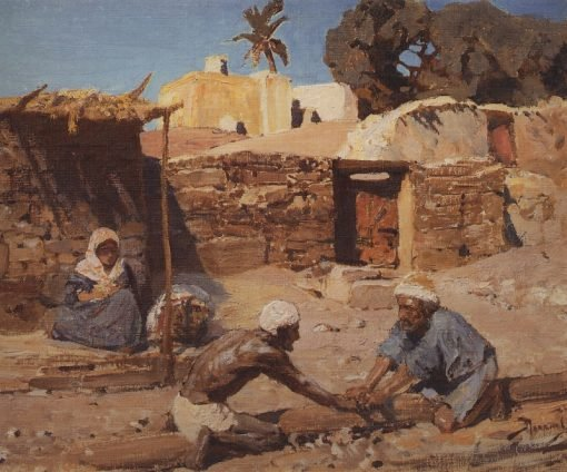 And He Was There | Vasily Polenov | Oil Painting
