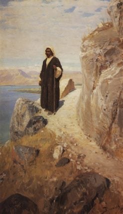 Christ on the Sea of Galilee | Vasily Polenov | Oil Painting
