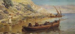 Jacob and John | Vasily Polenov | Oil Painting