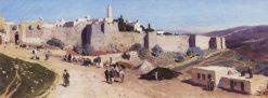 Jerusalem | Vasily Polenov | Oil Painting