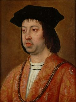 King Ferdinand II of Aragon | Michel Sittow | Oil Painting