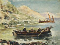 Johann and Jacob | Vasily Polenov | Oil Painting
