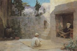 Gaining Wisdom | Vasily Polenov | Oil Painting