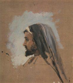 The Head of Christ (study) | Vasily Polenov | Oil Painting