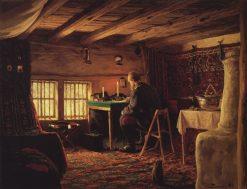 The Room of Grand Duke Alexander in Brestovets | Vasily Polenov | Oil Painting