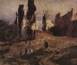 Constantinople | Vasily Polenov | Oil Painting