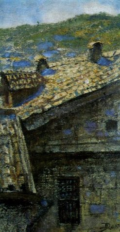 The Roofs of Feodosia | Vasily Polenov | Oil Painting