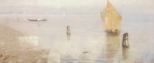 Venetian Lagoon   Vasily Polenov   Oil Painting