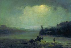 The Shower   Vasily Polenov   Oil Painting