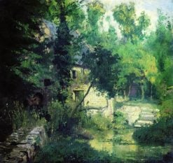 The Watermill | Vasily Polenov | Oil Painting