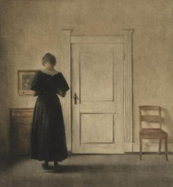 Interior | Peter Ilsted | Oil Painting