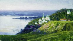 Monastery by the River | Vasily Polenov | Oil Painting