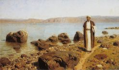 On the Sea of Tiberias (Galilee) | Vasily Polenov | Oil Painting