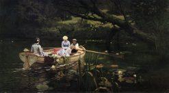 Boating. Abramtsevo | Vasily Polenov | Oil Painting