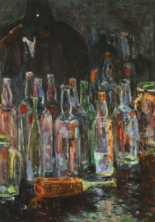 Still Life with Bottles | Floris Verster | Oil Painting