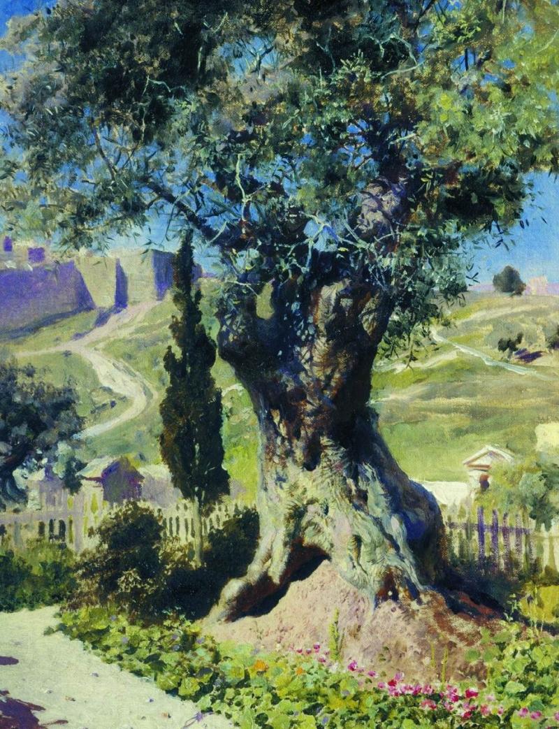 Garden of gethsemane pictures painting garden ftempo for Burlington coat factory jersey garden mall