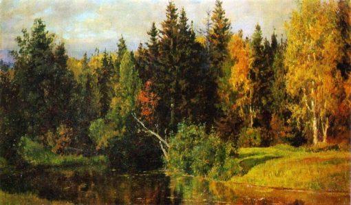 Autumn in Abramtsevo | Vasily Polenov | Oil Painting