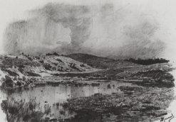The Swamp   Vasily Polenov   Oil Painting