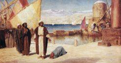 Jesus in Tyre | Vasily Polenov | Oil Painting