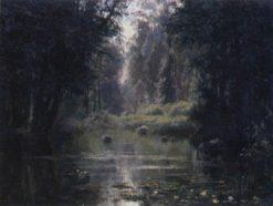 The Pond | Vasily Polenov | Oil Painting