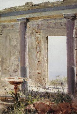 Palace Ruins in Palestine | Vasily Polenov | Oil Painting