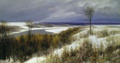 Early Snow | Vasily Polenov | Oil Painting